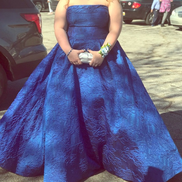 Plus size Prom dress/ ball gown